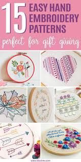 Image result for hand embroidery designs for beginners