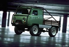 UAZ Buhanka 4x4 Offroad . I've sketched a Bay Window built like this years ago.