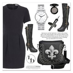 """# I/13 Luxury Divas"" by lucky-1990 ❤ liked on Polyvore featuring Lauren Conrad, H&M, Nixon, Vincent Longo, Barry M and LUXURYDIVAS"