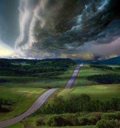 Fotografias incríveis de rodovias 17