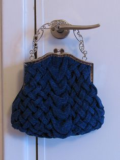 smocked purse