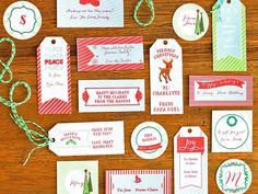 Download, customize and print these holiday gift tags >> http://www.diynetwork.com/decorating/how-to-make-customizable-holiday-gift-tags/pictures/index.html?soc=hpp#