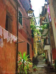 The Girl with the Suitcase: La Liguria delle Cinque Terre: Monterosso