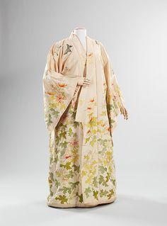 Kimono  (attributed) Iida & Co./Takashimaya  (Japanese, founded 1831)  Date: ca. 1910 Culture: Japanese Medium: silk