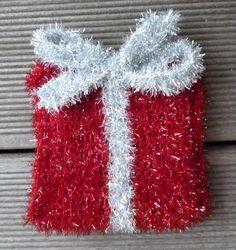 Für alle die lieber stricken als häkeln habe ich hier eine Anleitung für Weihnachtliches aus der Sch...