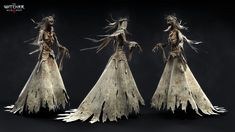 ArtStation - The Witcher III - Noonwraith, Marcin Blaszczak The Witcher Wild Hunt, The Witcher 3, Witcher 3 Characters, Witcher Monsters, Character Inspiration, Character Design, 3d Character, Video Game Artist, The Witcher Books