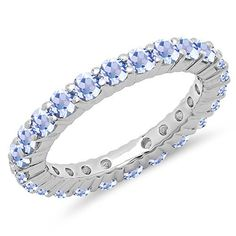 Dazzlingrock Collection Carat (ctw) Round Tanzanite Ladies Et Diamond Wedding Bands, Wedding Rings, Stackable Bands, Rings For Her, Pink Sapphire, Wedding Anniversary, Jewelry Necklaces, White Gold, Ring Sizes