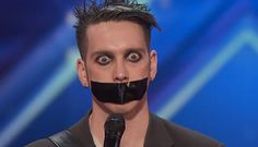 Creepy 'Tape Face' mime stuns 'America's Got Talent' audience in viral clip America's Got Talent, Movie Gifs, Movie Tv, Mime Face, Shadow Theatre, Britain Got Talent, Bd Comics, Youtube I, News Today
