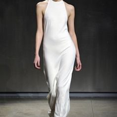 GoRunway.com, 2011, Halston Autumn/Winter 2011-2012 Ready-To-Wear. (inspired by Vionnet Grecian dress)