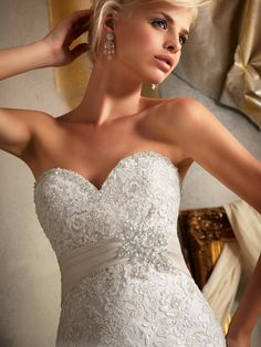 Mori Lee Fit and Fla