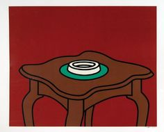 Patrick Caulfield - Occasional table - 1972