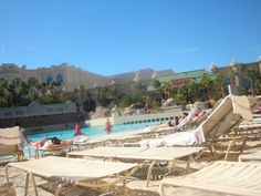 The pool at Mandalay Bay ~ Las Vegas