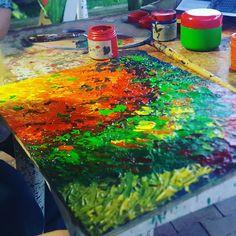 Arte abstracto - Acrílico