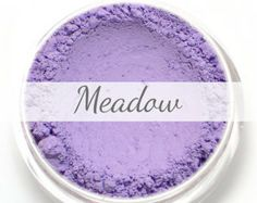 Eyeshadow Sample Bag - MEADOW - matte lavender purple - Mineral Eyeshadow (Vegan) Natural Mineral Makeup Eye Color Pigment