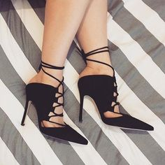 Lace up Heels X