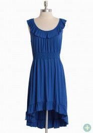 island getaway curvy plus dress in blue