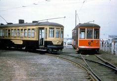 Atlantic  City  The seaside resort ran trolleys  until  December  1955