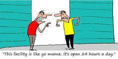 Does your storage facility have 24 hour access? #FunnyFridays #selfstorage #cartoon