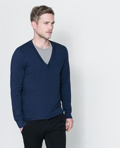 ZARA - MAN - V-NECK SWEATER