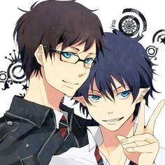 Blue Exorcist (Ao no Exorcist) - Rin and Yukio Okumura