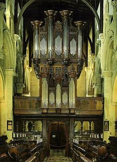 1979 Rieger organ at Christ Church, Oxford, UK