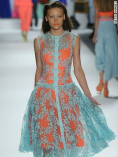 Odd color combo, and not sure I'd ever wear this...but for some reason, I LOVE it!