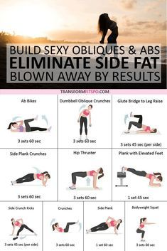 Best Exercised to Eliminate Side Fat and Build Sexy Obliques & Abs! You'll be Blown Away by These Results If you want to eliminate your side fat then you must do this routine daily. You'll see rapid results and get blown away! Hiit, Gym Workouts, At Home Workouts, Oblique Workout, Mental Training, Strength Training, Fit Girl, Yoga Exercises, Exercises For Obliques