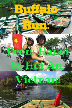 BUFFALO RUN: Motorbike Trip from Hanoi to Hoi An, Vietnam Are you tired of being that tourist and regular traveler jumping on buses? Would you like to level up your adventure in more exciting way? Do you fancy to visit places that you thought doesn't exist? Or maybe push yourself into your limits? Might as well do it in Vietnam with the ultimate motorbike trip with #Vietnam Backpackers Hostels' #BuffaloRun! #TwoMonkeysTravelGroup