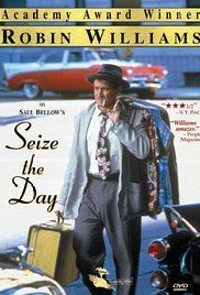 Seize the Day Poster 1986 Robin Williams played Tommy Wilhelm.