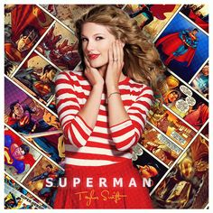 Taylor Swift - Superman cover