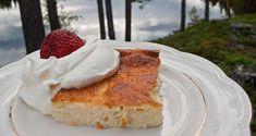 Ett LCHF-recept på en mycket enkel och god ostkaka som passar perfekt för dig som äter LCHF/lowcarb/keto. Servera med lite bär och grädde och njut!