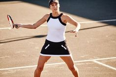 Fila Court Couture halter tank and Court Couture skort