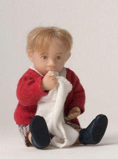Catherine Muniere 1:12 dolls' house boy toddler sucking thumb | Dolls & Bears, Dolls, Clothing & Accessories, Artist & Handmade Dolls | eBay!