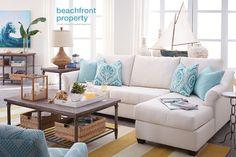 Gorgeous Coastal Design by @Havertys Furniture Furniture   #HavertysRefresh