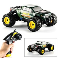 Hobby RC Crawlers - RC Trucks Off Road 2WD MengK 112Scale Off Road Remote Control Cars  Monster Trucks with Waterproof Chassis 24Ghz Radio Control Pistol Grip * Check this awesome product by going to the link at the image.