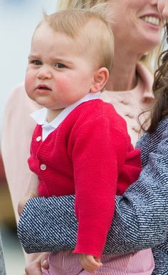 Pin for Later: 53 Photos du Prince George Toutes Plus Adorables les Unes Que les Autres  Source: Getty / Chris Jackson
