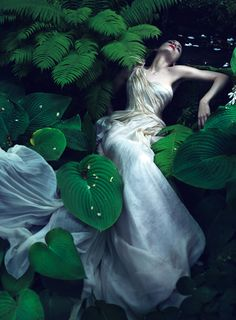 Rooney Mara photographed by Mert Alas and Marcus Piggott for the November 2011 issue of Vogue.