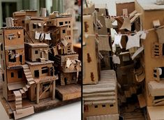 Favela - Kunst aus Karton repurposed packaging PD Aeroplanes, Some Ideas, Art Object, Madness, Repurposed, Have Fun, Blog, Creativity, Objects