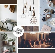 Moodboard: Coffeehouse Gathering / holly marie designs