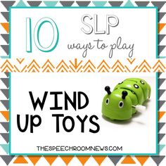 Next up in my '10 ways to play' series is the super fun wind up toy. I have a handy dandy box of wind up toys that are worth their weight in gold.   Wind up toys are some of my favorite...