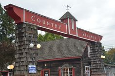 Country Village is a treasure trove of small locally owned businesses that offer baubles, toys and even a bridal salon.