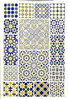 Design - Paper - Blue,  gray poupon yellow