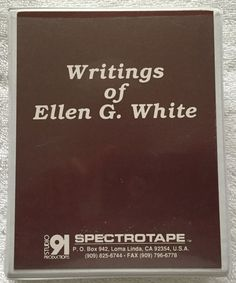 ellen white writings Ellen white (november 26, 1827 – july 16, 1915) was a prolific author, writing more than 40 books and 5000 periodical articles during her lifetime.