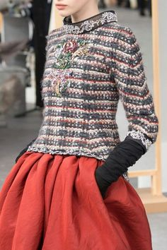 nice Chanel at Couture Fall 2016 (Details) by http://www.redfashiontrends.us/runway-fashion/chanel-at-couture-fall-2016-details-2/
