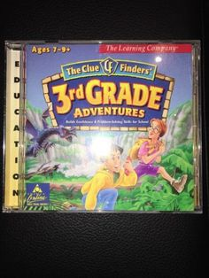 The Clue Finders' 3rd Grade Adventures Ages 7-9 - CD ROM for WIN MAC