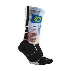 8ac1b7485283 Nike K KD Digital Elite Ink Easy Euro Socks Multi Color SX5046 900 Sz LRG 8