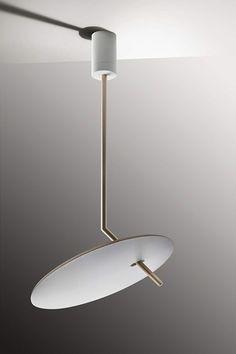 """Luà"" #Led #suspended #chandelier #essential #modern #design #light #Besanza https://www.lampadaribesanza.com/en/suspension-lua-1-led.html"