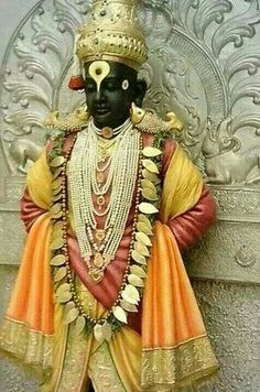 Lord Vithhal, Pandharpur, Maharashtra, India