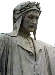 Dante Alighieri ~ the first to ever write in Italian. The first to ever distinguish and mark a separate language from Latin.