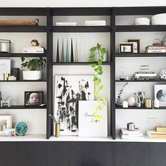 Stunning #shelfie by @stylecuratorau . Just the inspiration for some Sunday faffing!